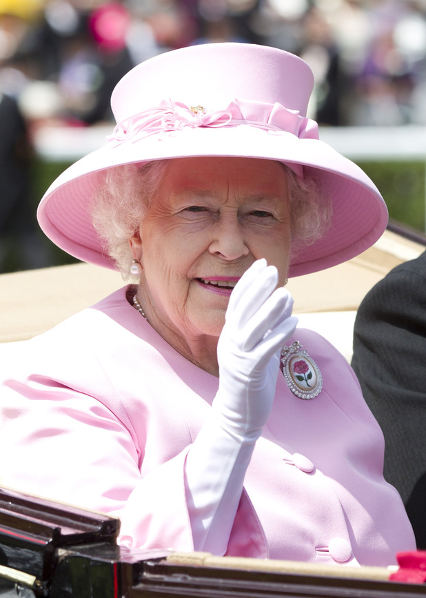 The Queen, Royal Ascot 2012