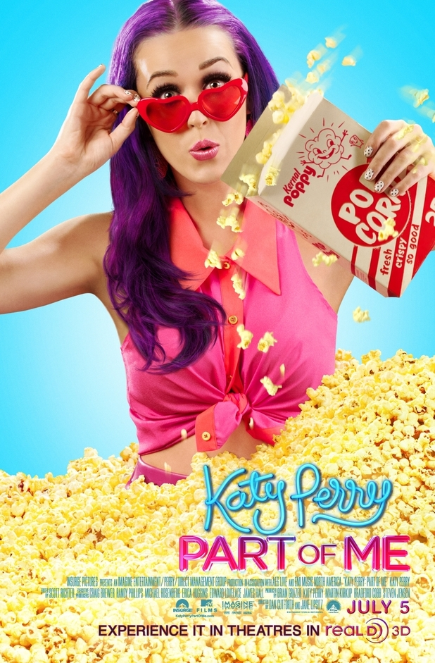 'Katy Perry: Part of Me' poster