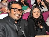 Anurag Kashyap & Anushka Sharma during the London India Film Festival 2012