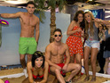 Two members of Geordie Shore are booted out in the first episode.