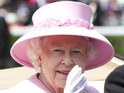 "The British monarch is admitted to hospital in London ""as a precaution""."