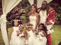 'My Prerogative' singer ties the knot with his fiancée in Hawaii.