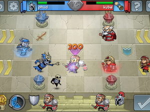 'Hero Academy' screenshot