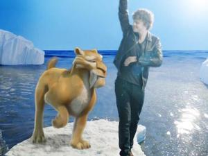 The Wanted Jay McGuiness 'Chasing The Sun' Ice Age 4 video.