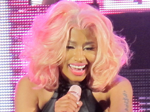 Nicki Minaj performing live at the Hammersmith Appollo
