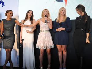 The Spice Girls at the 'Viva Forever' launch