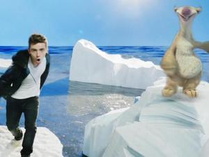 The Wanted Nathan Sykes 'Chasing The Sun' Ice Age 4 video.