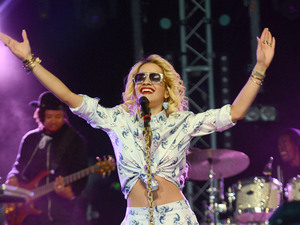 Rita Ora, Hackney Weekend 2012