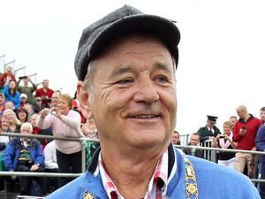 Bill Murray, Irish Open Pro-Am 2012 at Royal Portrush Golf Club