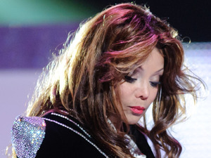 Latoya Jackson performing on stage at the Michael Forever Michael Jackson tribute concert, held at the Millenium Stadium in Cardiff, Wales.