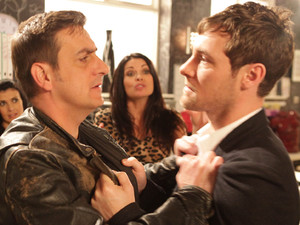 Peter gets a shock when Carla reveals that the mystery man is her brother Rob