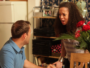 Kirsty is furious to learn that Tyrone did not respond to her calls because he was helping Fiz instead