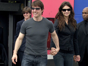 On the June 17 2005, Tom Cruise and Katie Holmes announce their engagement in Paris, where Tom proposed on the Eiffel Tower