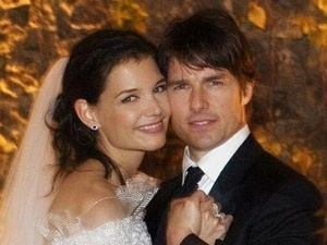 Cruise Married Katie Holmes on Tom Cruise And Katie Holmes On Their Wedding Day In Italy On November