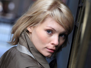 MyAnna Buring as Sylvie in 'Blackout'