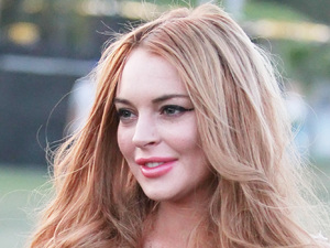 Lindsay Lohan Celebrities at the 2012 Coachella Valley Music and Arts Festival - Week 1 Day 3 Los Angeles