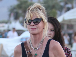 Melanie Griffith Celebrities at the 2012 Coachella Valley Music and Arts Festival - Week 2 Day 2 Indio, California