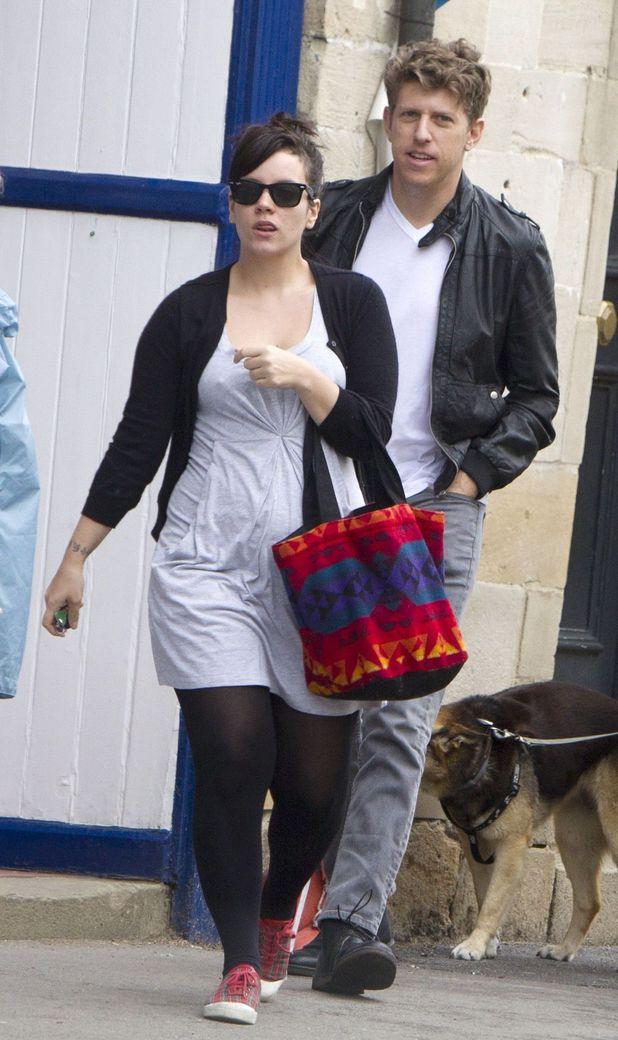Lily Allen and Greg Kurstin
