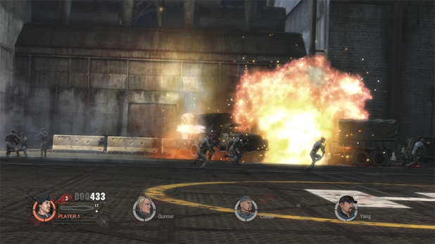 'Expendables 2' video game screenshot