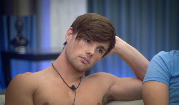 Big Brother 2012 - Day 22: Arron after destroying cigarettes