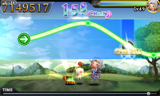 'Theatrhythm: Final Fantasy' screenshot
