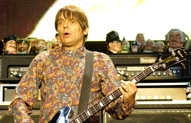 The Stone Roses perform live at Heaton Park: Mani aka Gary Manny Mounfield 