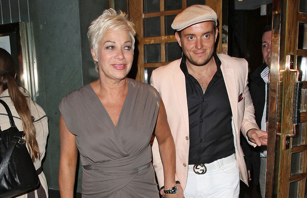 Denise Welch and boyfriend Lincoln Townley