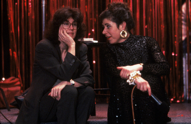 Nora Ephron with Julie Kavner