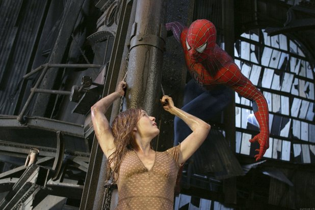 Spider-Man leaps in to rescue Mary Jane
