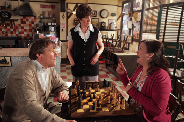 Roy decides to play chess against Mary for the evening instead of attending Hayley's dance class presentation
