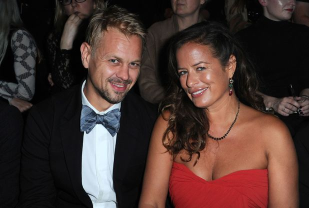 Adrian Fillary and Jade Jagger
