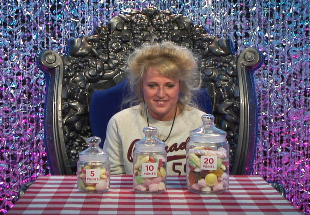 Caroline in the diary room on day 23