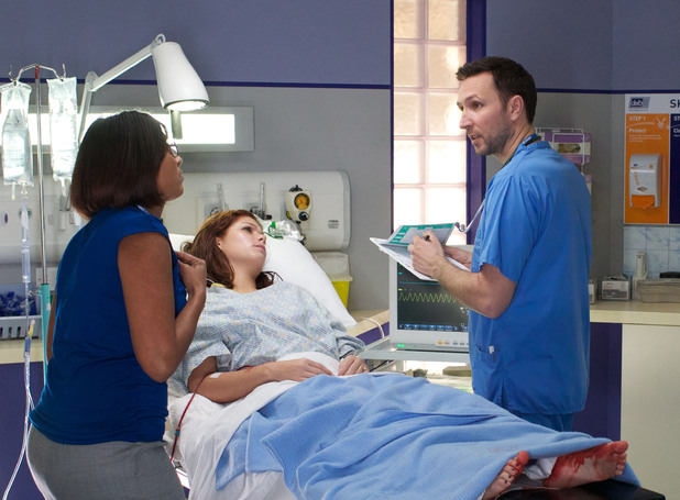 Alex Walkinshaw in Casualty