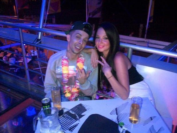Tulisa Contostavlos and Dappy