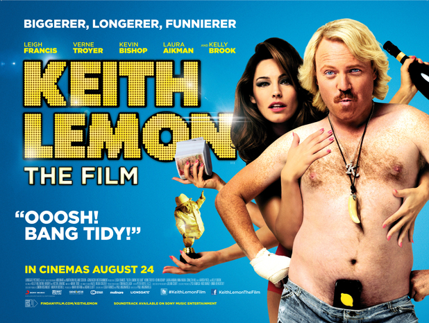Keith Lemon: The Film poster, Keith Lemon, Kelly Brook