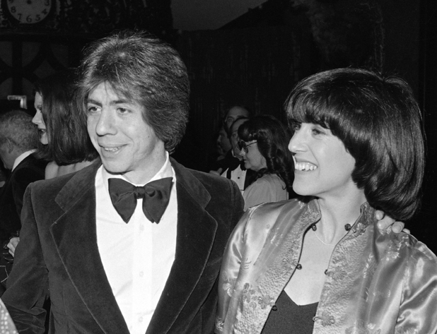 Nora Ephron with second husband Carl Bernstein