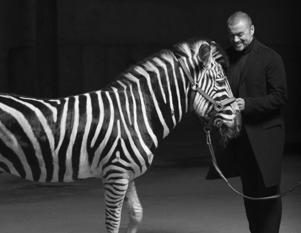 George Michael 'White Light' video still