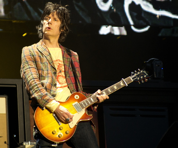 The Stone Roses perform live at Heaton Park: John Squire