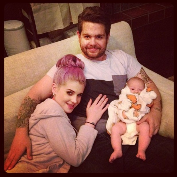 Kelly Osbourne, Jack Osbourne and Pearl