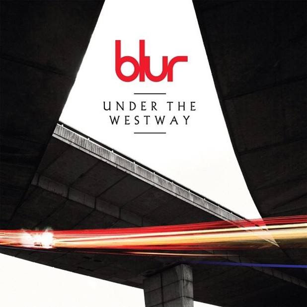 Blur 'Under The Westway' single sleeve