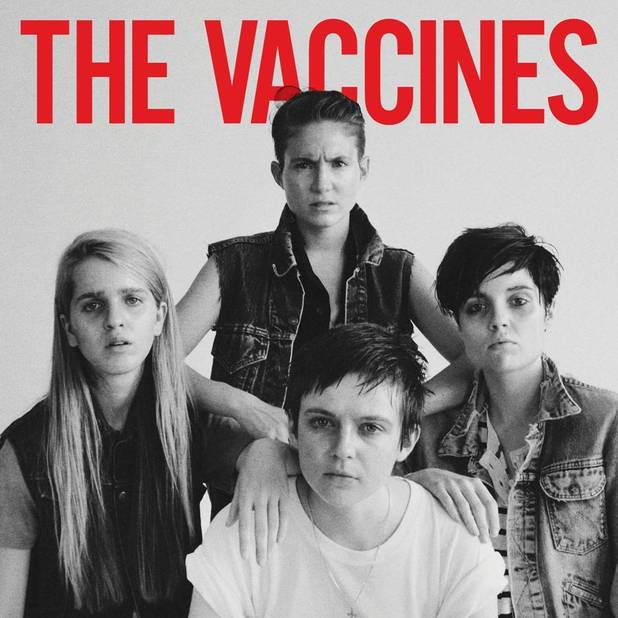 The Vaccines 'The Vaccines Come Of Age' artwork.