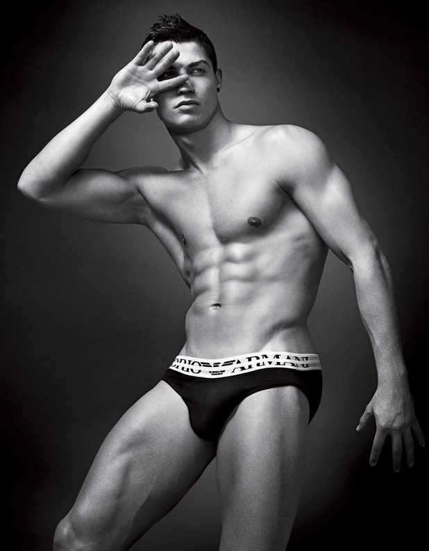 Cristiano Ronaldo, Armani, spring-summer 2010 Armani underwear campaign