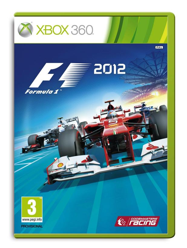 F1 2012 Multiple Packshots