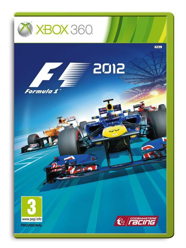 F1 2012 packshot