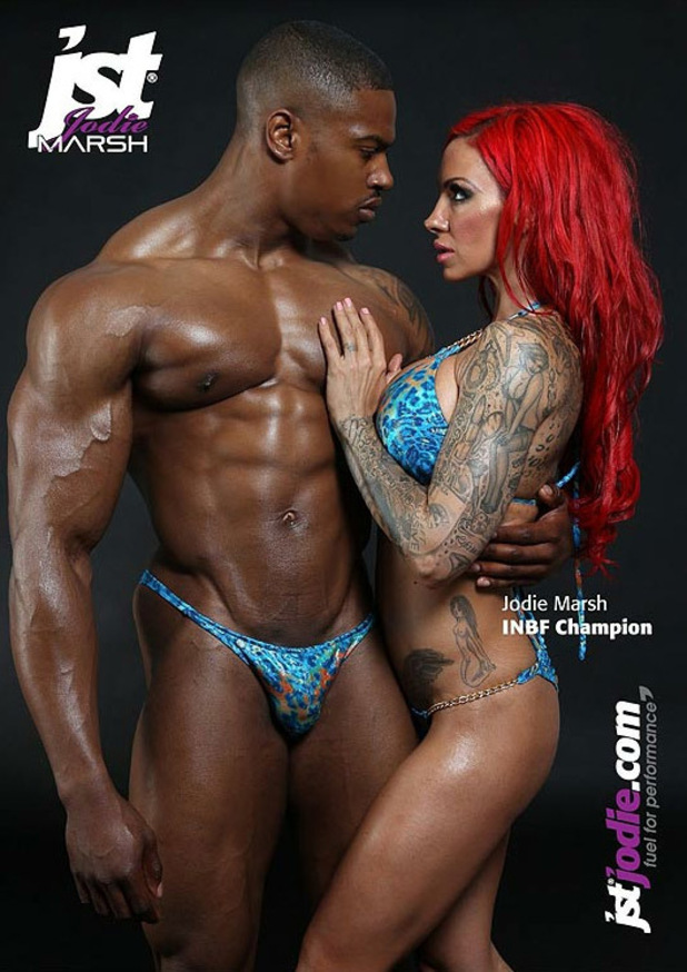 Jodie Marsh featured on jst poster