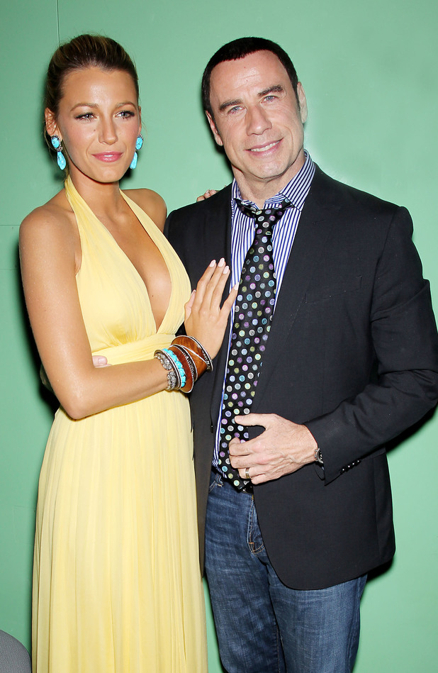 Blake Lively and John Travolta