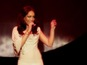 Rebecca Ferguson sings track live - watch
