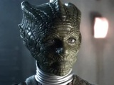 Neve McIntosh as Madame Vastra on Doctor Who