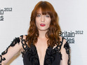 "Florence Welch says she doesn't ""recognize"" herself without red hair."
