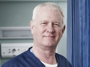 Derek Thompson as Charlie Fairhead in Casualty